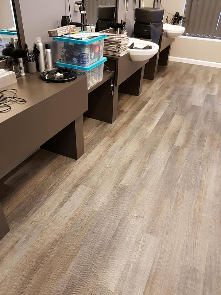 hairdressers flooring